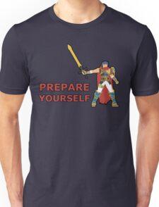 IKE   Super Smash Taunts   Prepare yourself Unisex T-Shirt