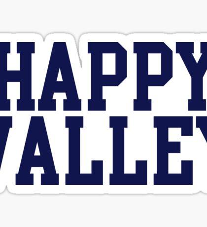 happy valley navy varsity Sticker