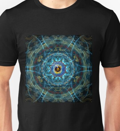 """Om Namah Shivaya"" Mantra- The True Identity- Your self. Unisex T-Shirt"