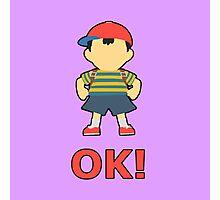 NESS | Super Smash Taunts | OK! Photographic Print