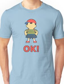 NESS | Super Smash Taunts | OK! Unisex T-Shirt