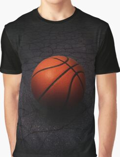 Lonely Basketball Graphic T-Shirt