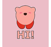 KIRBY | Super Smash Taunts | Hi! Photographic Print