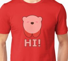 KIRBY | Super Smash Taunts | Hi! Unisex T-Shirt