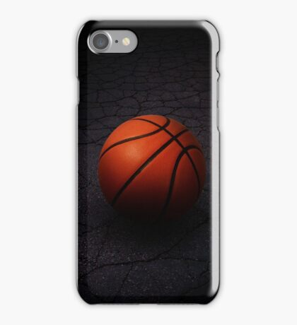 Lonely Basketball iPhone Case/Skin