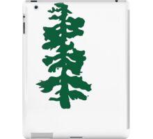 oregon tree iPad Case/Skin