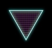 Neon Triangle by sleazusheist