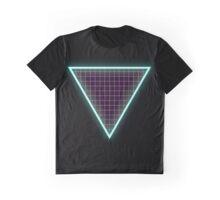 Neon Triangle Graphic T-Shirt