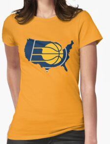 Pacers Womens Fitted T-Shirt