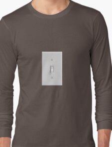 light switch practical joke Long Sleeve T-Shirt