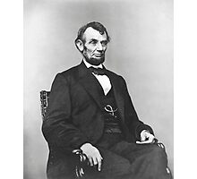 Abraham Abe Lincoln Photographic Print