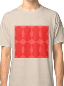 Red Pattern Classic T-Shirt
