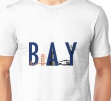 Bay Area Landmarks Unisex T-Shirt