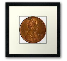 Penny! Framed Print