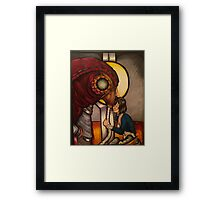 Sing me a song Framed Print