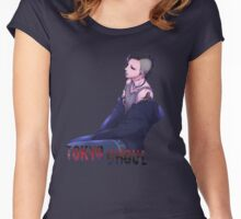Uta - Tokyo Ghoul Women's Fitted Scoop T-Shirt
