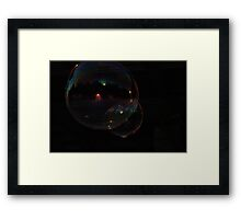 Hints Of Color Framed Print