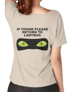 If Found, Please Return to Ladybug Women's Relaxed Fit T-Shirt