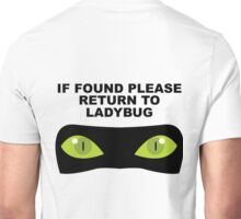 If Found, Please Return to Ladybug Unisex T-Shirt