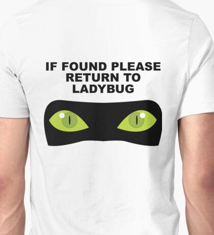 If Found, Please Return to Ladybug Unisex T-Shirt