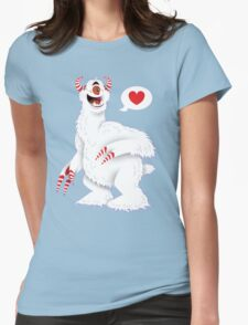 The Candy Pain Monster Womens Fitted T-Shirt
