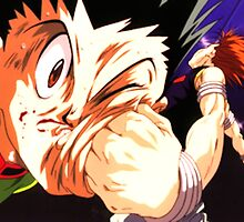 Gon vs Hisoka Hunter x Hunter by sinyoking