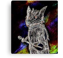 cool and spooky Canvas Print