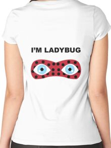I'm Ladybug Women's Fitted Scoop T-Shirt