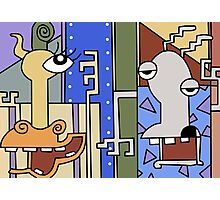 """Rocko's modern life Picasso  from episode """"Jet scream""""  Photographic Print"""