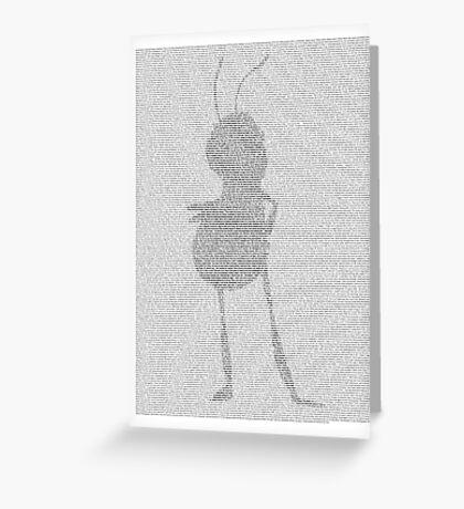 Barry Bee Benson - Bee Movie Greeting Card