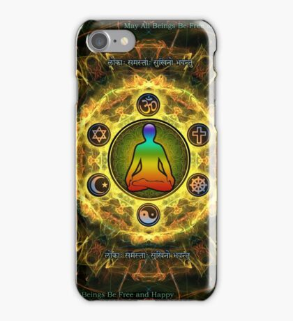 Universal Union - Peace on Earth  iPhone Case/Skin