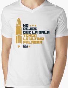 La bala Mens V-Neck T-Shirt
