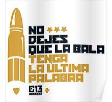 La bala Poster