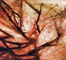 Reconstruction Original Abstract Painting by Rebecca Lemke