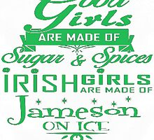 Irish Girl by HotTShirts
