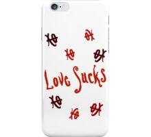 Love Sucks XO iPhone Case/Skin