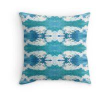 Splashing 1 by Stephanie Burns Throw Pillow
