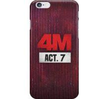 4Minute 4M Seventh Mini Album ACT. 7  iPhone Case/Skin