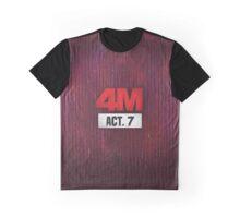 4Minute 4M Seventh Mini Album ACT. 7  Graphic T-Shirt