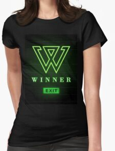Winner Project Exit Movement Womens Fitted T-Shirt