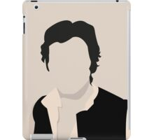 Silhouette Han Solo iPad Case/Skin