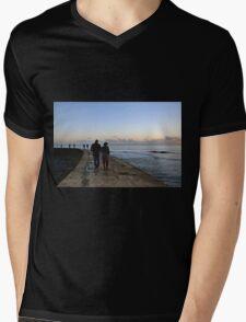 Romance at Sunset.......... Mens V-Neck T-Shirt