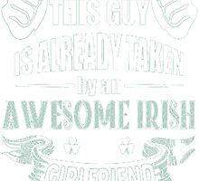 Awesome Irish Girlfriend by HotTShirts