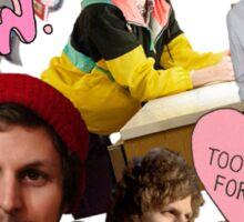 Michael Cera collage Sticker