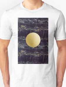 Gold and black granite T-Shirt