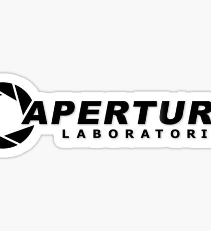 Aperture Science logo Sticker