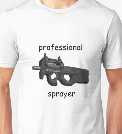 CS;GO- Professional P90 Sprayer Unisex T-Shirt