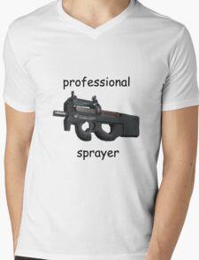 CS;GO- Professional P90 Sprayer Mens V-Neck T-Shirt