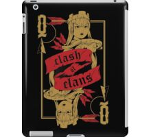 Archer queen iPad Case/Skin
