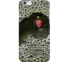 Lady Red Bubbles iPhone Case/Skin